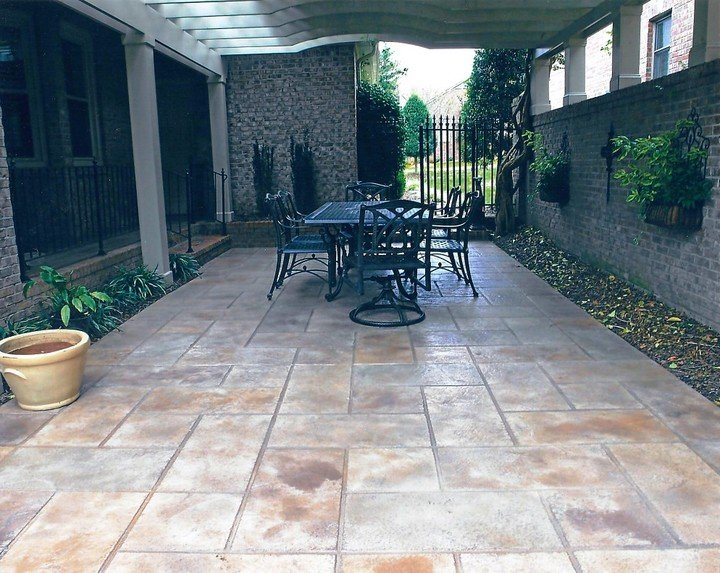 patio stamped