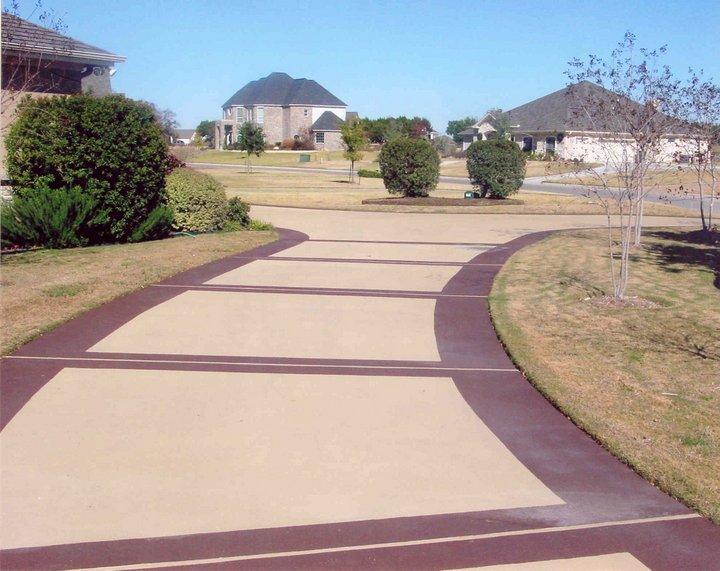 concrete driveway hosuton