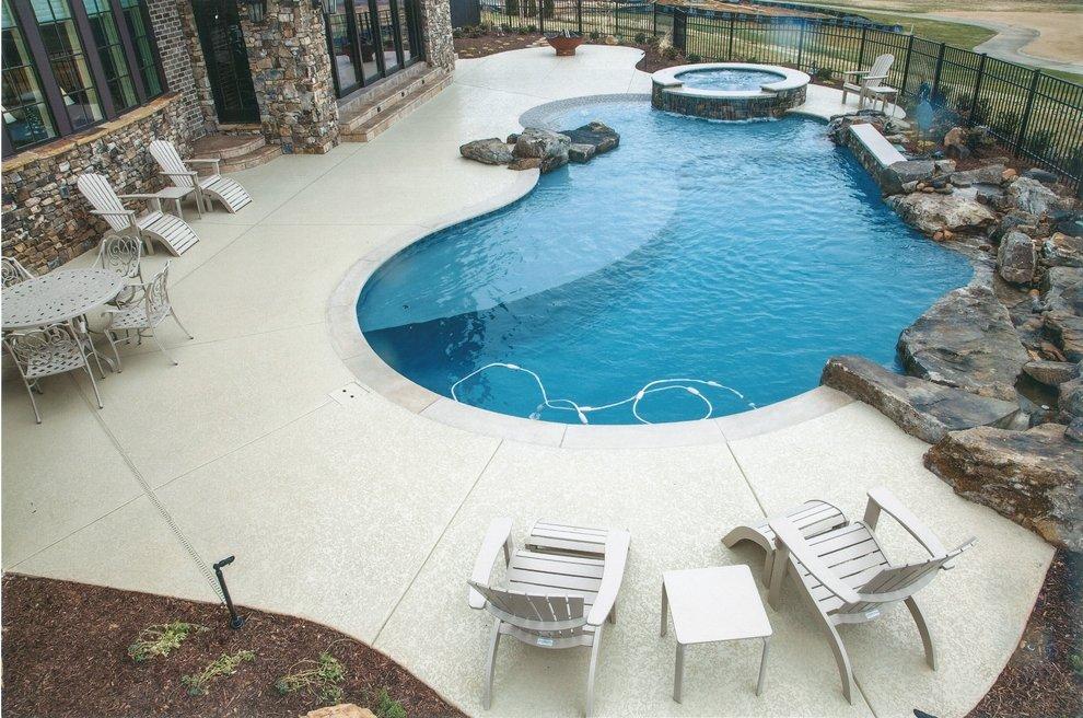 Concrete Pool Deck Houston